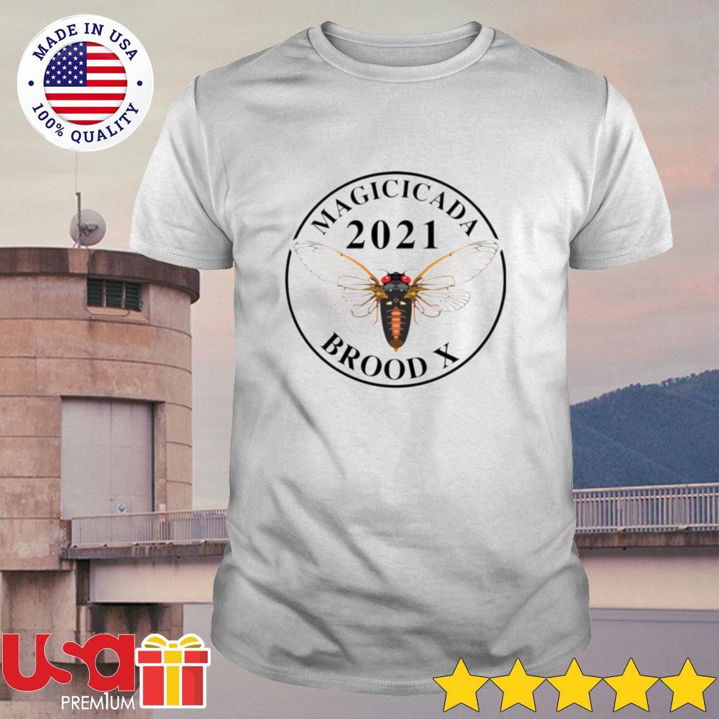 Magicicada 2021 brood X shirt