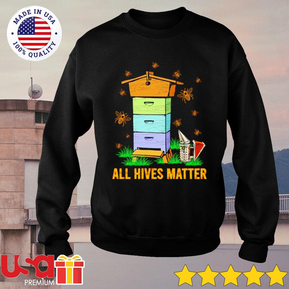All hives matter s sweater