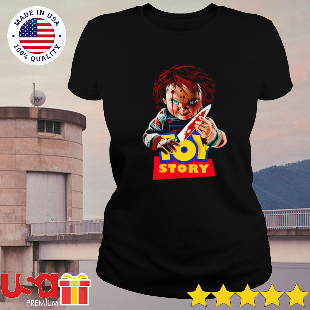 Chucky Toy Story Shirt ladies-tee