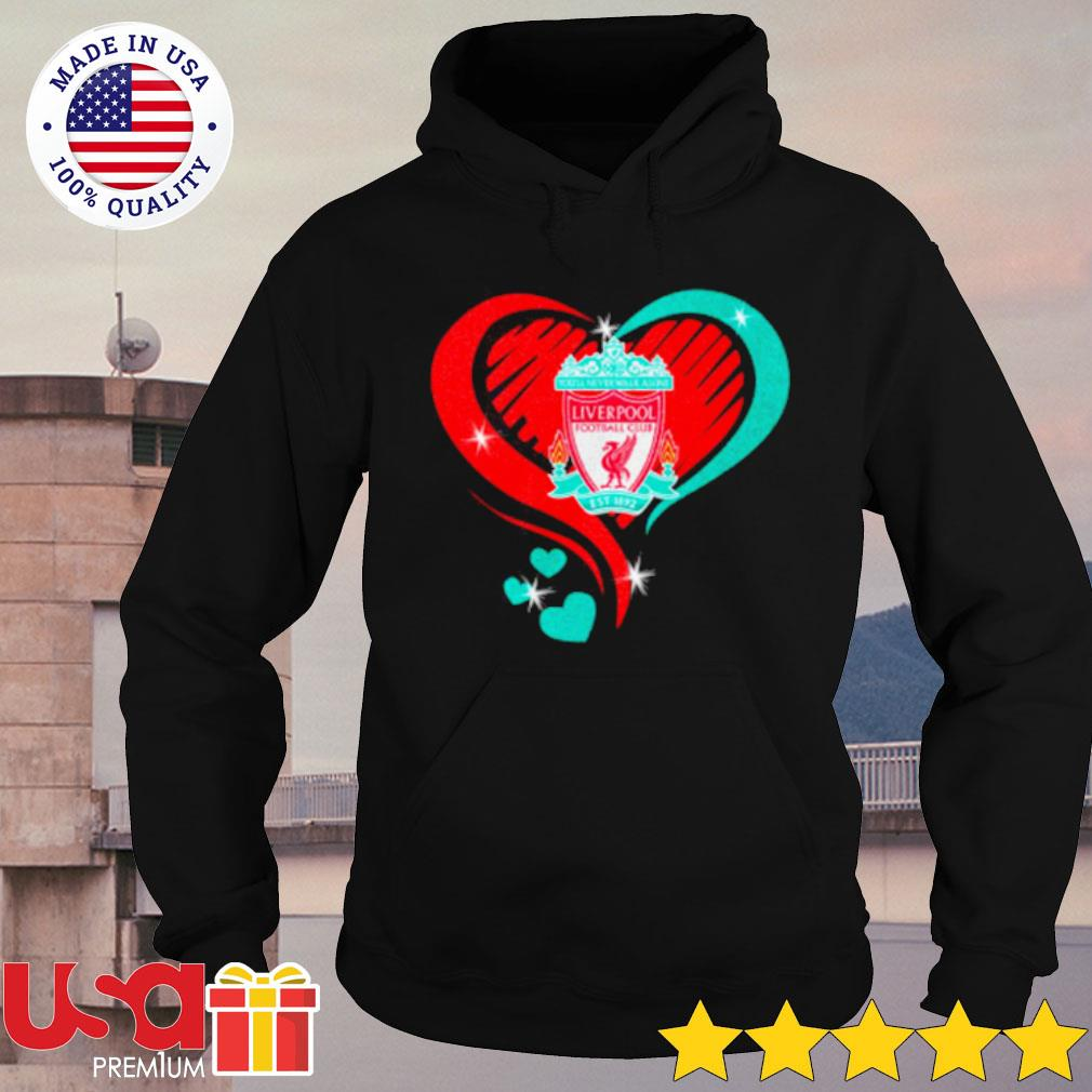 Heartbeat Liver Pool Football Cub Shirt hoodie