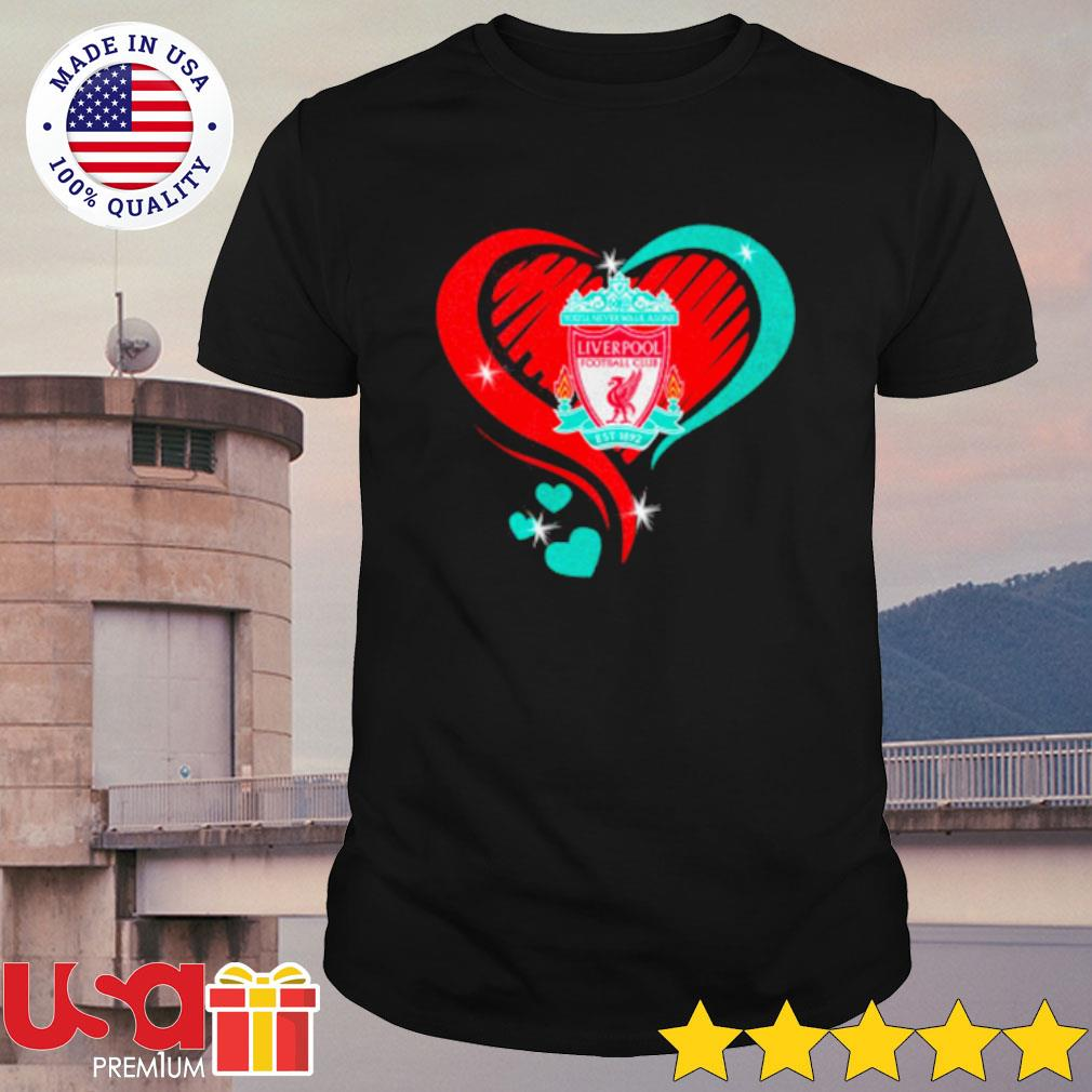 Heartbeat Liver Pool Football Cub Shirt