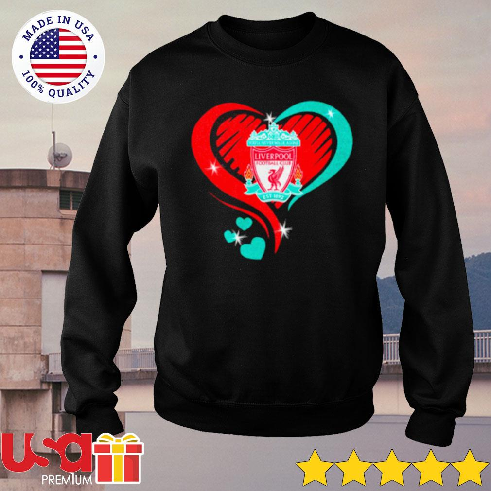 Heartbeat Liver Pool Football Cub Shirt sweater