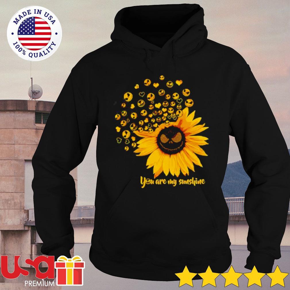 Jack Skellington Sunflower You are my sunshine s hoodie