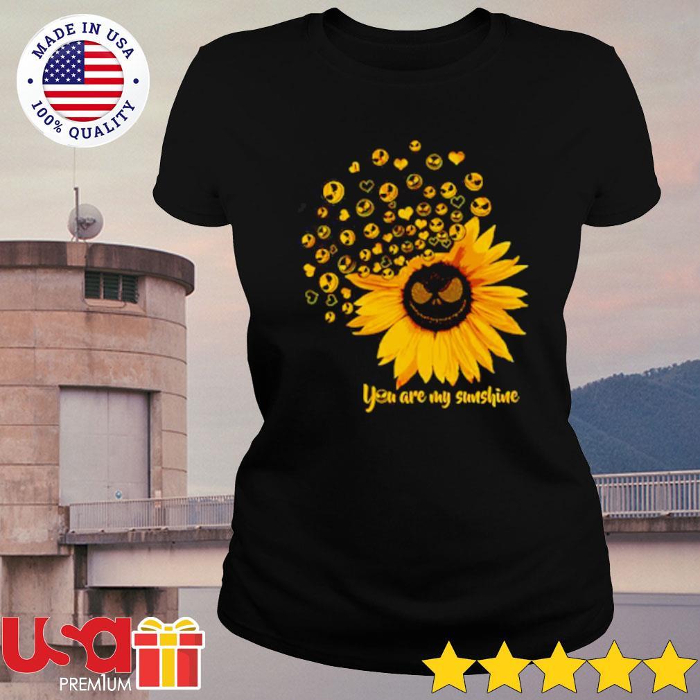 Jack Skellington Sunflower You are my sunshine s ladies-tee