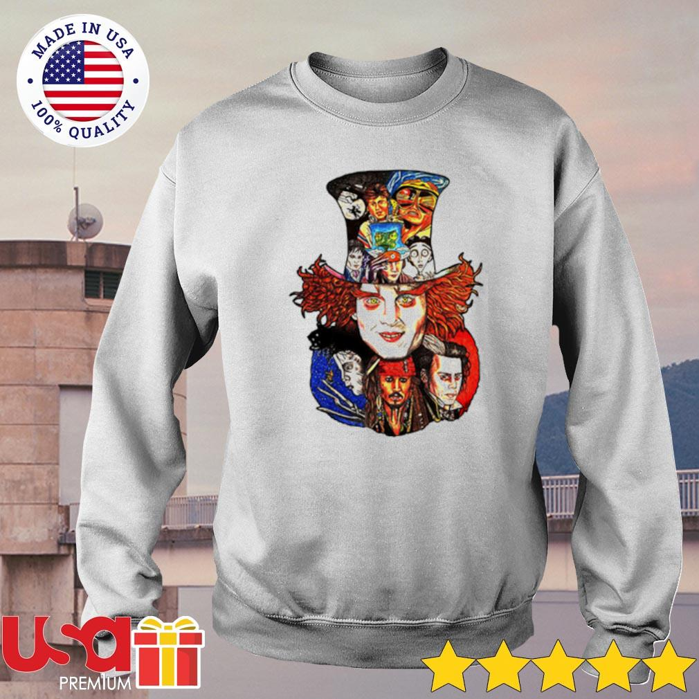 Johnny Depp's movie characters Shirt sweater