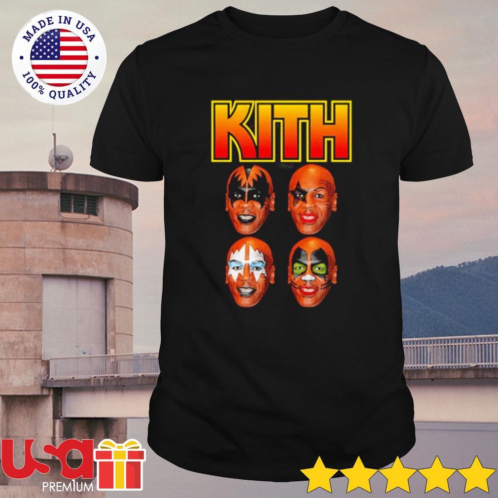 Mike Tyson Kiss Parody Kith Tyson Shirt
