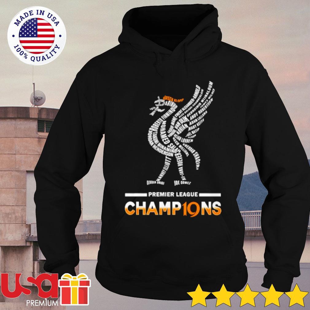 Premier League Champions Shirt hoodie