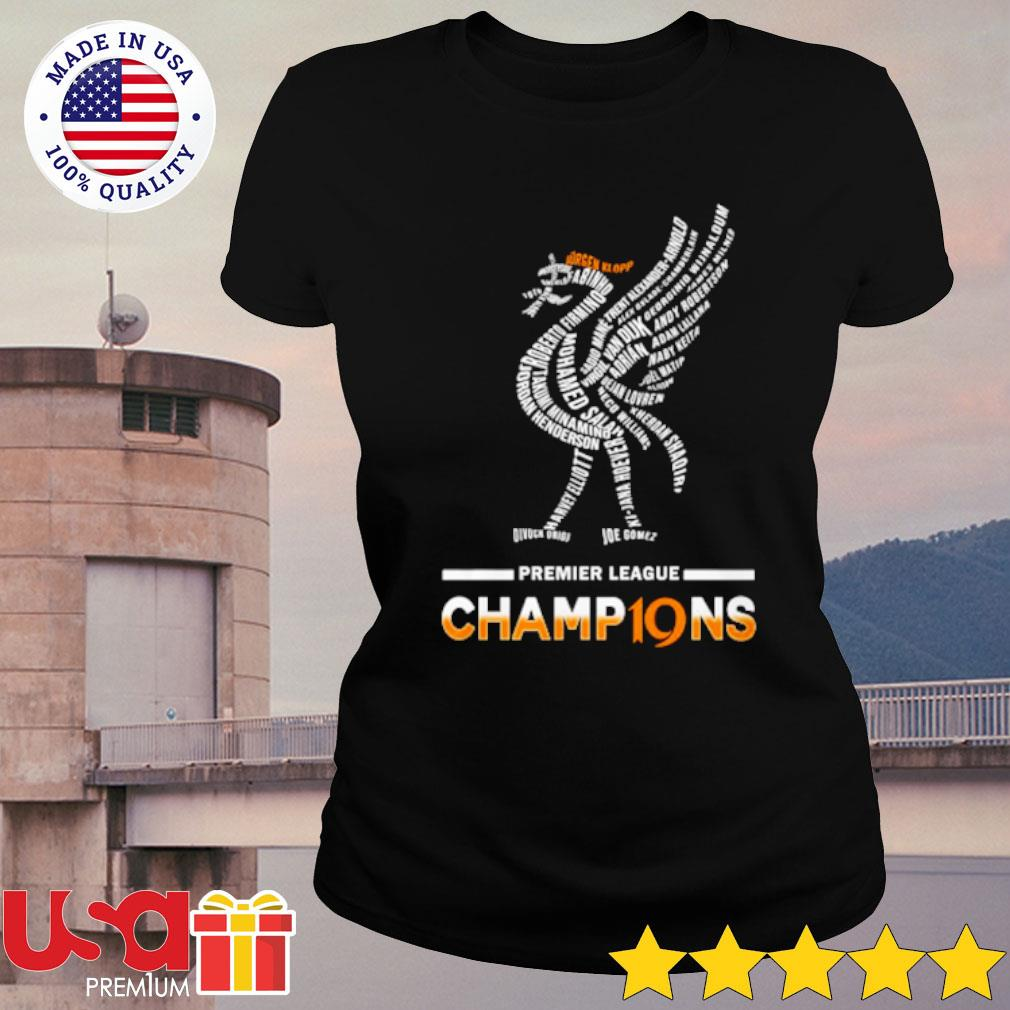 Premier League Champions Shirt ladies-tee
