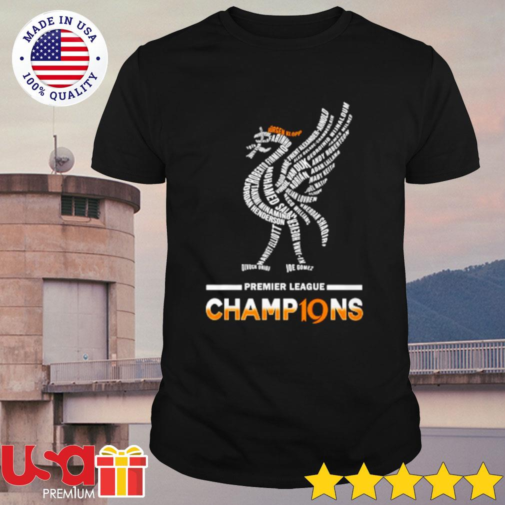 Premier League Champions Shirt