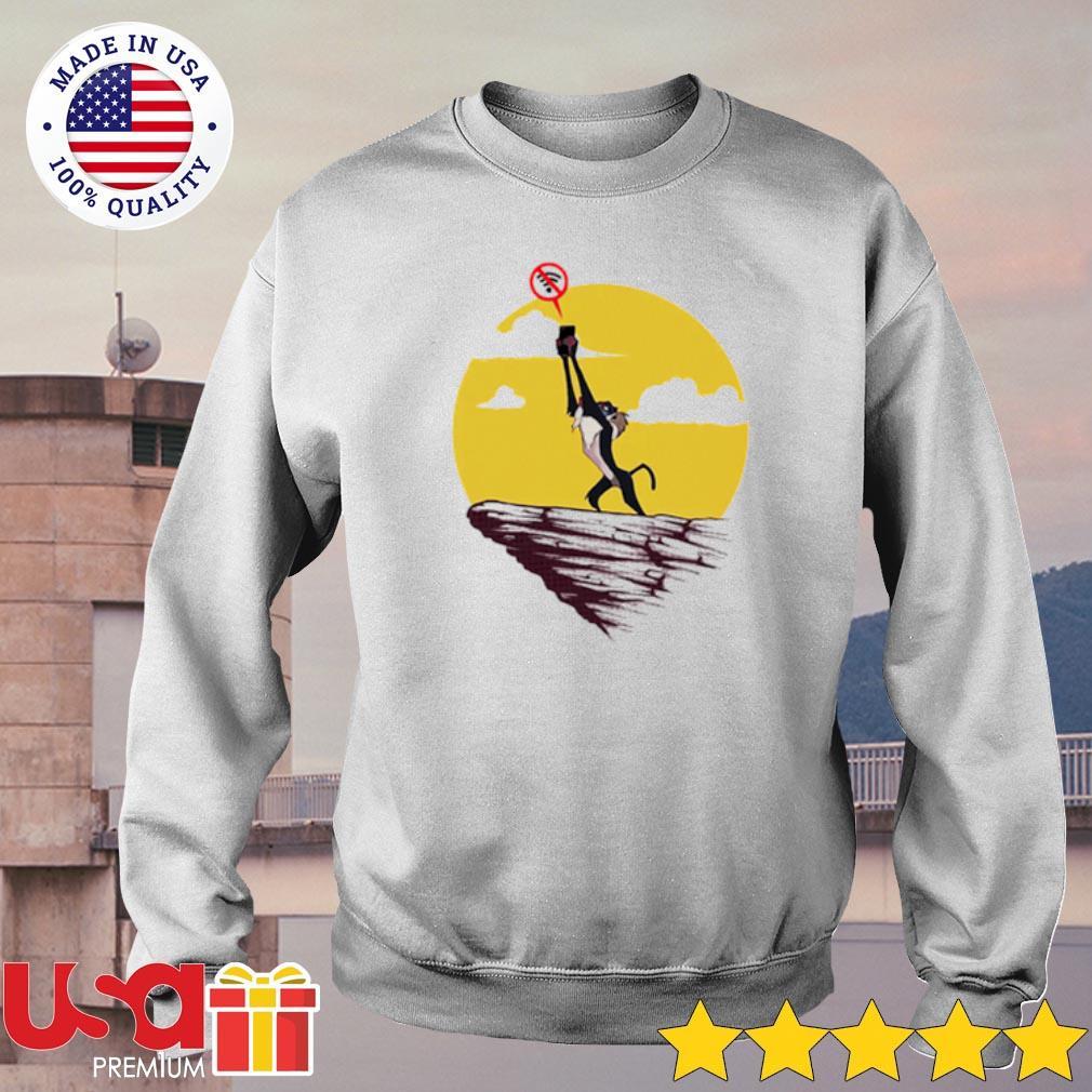 Rafiki connecting wifi The Lion King Shirt sweater