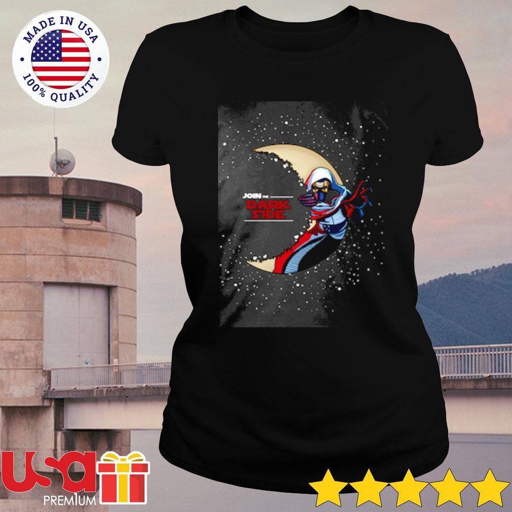 Star Wars Join The Dark Side Shirt ladies-tee
