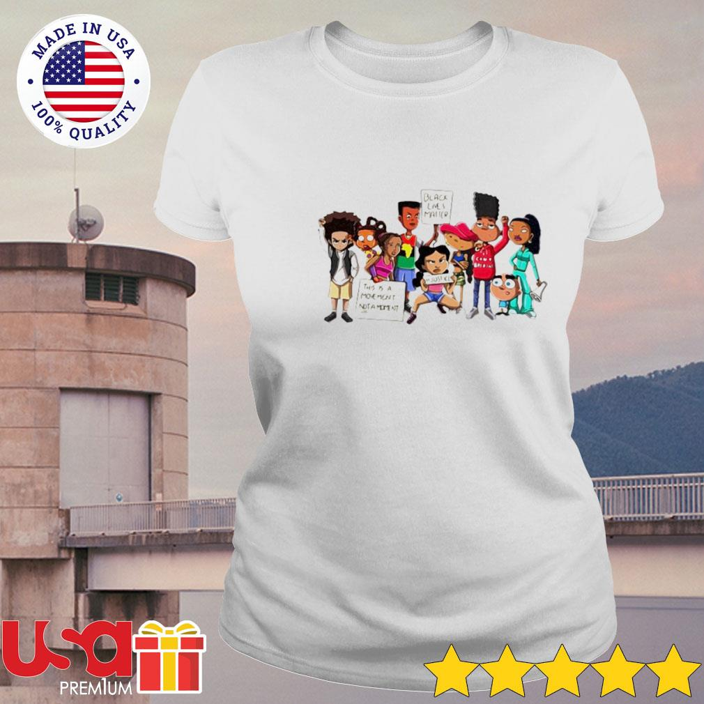 Black lives matter this is a moment not a moment justice s ladies-tee