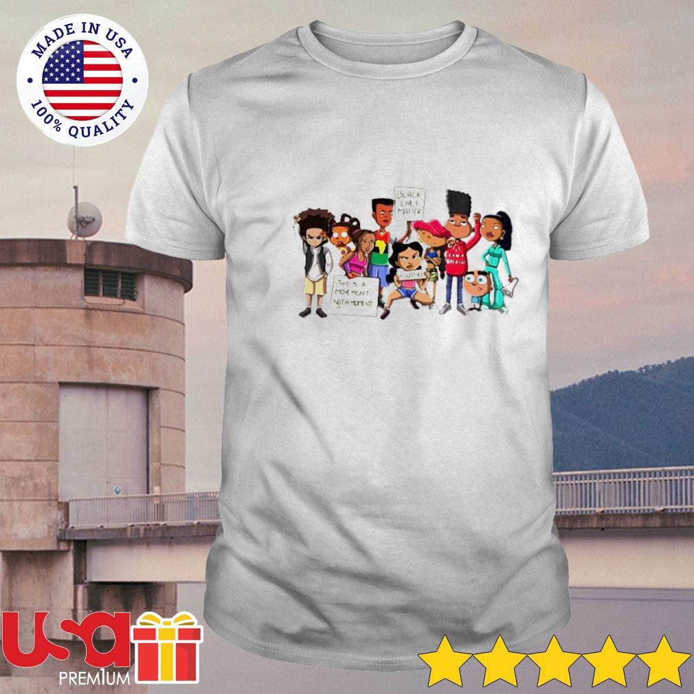 Black lives matter this is a moment not a moment justice shirt