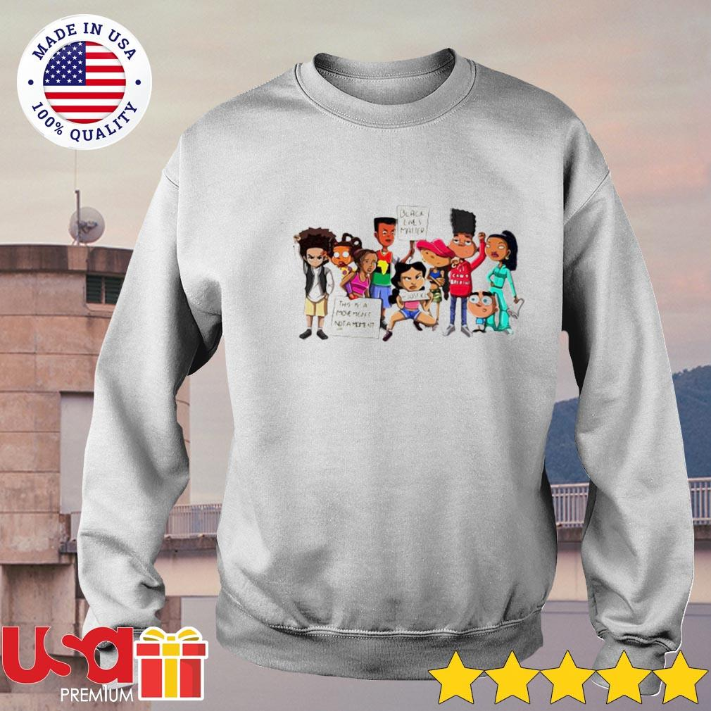 Black lives matter this is a moment not a moment justice s sweater