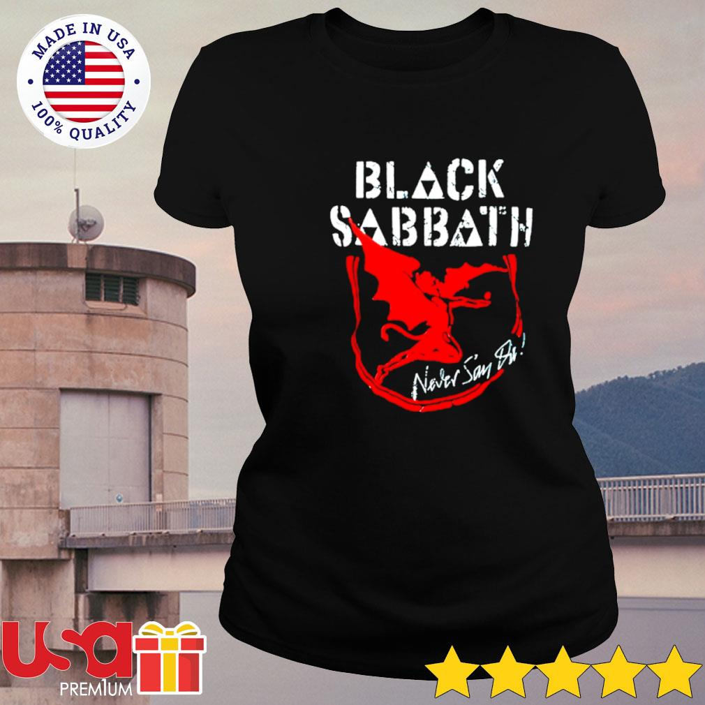 Black Sabbath never say die album s ladies-tee