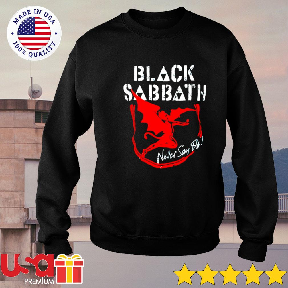 Black Sabbath never say die album s sweater