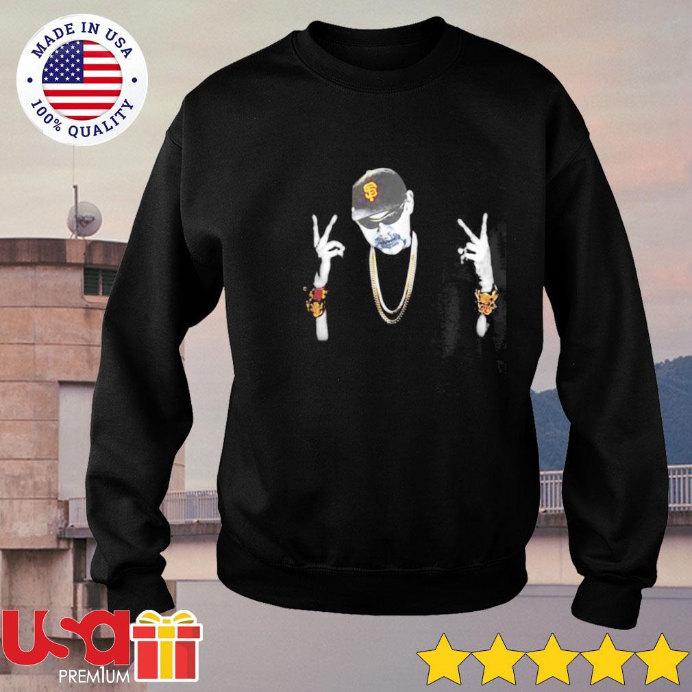 Bruce Bochy San Francisco Giants Hip Hop s sweater