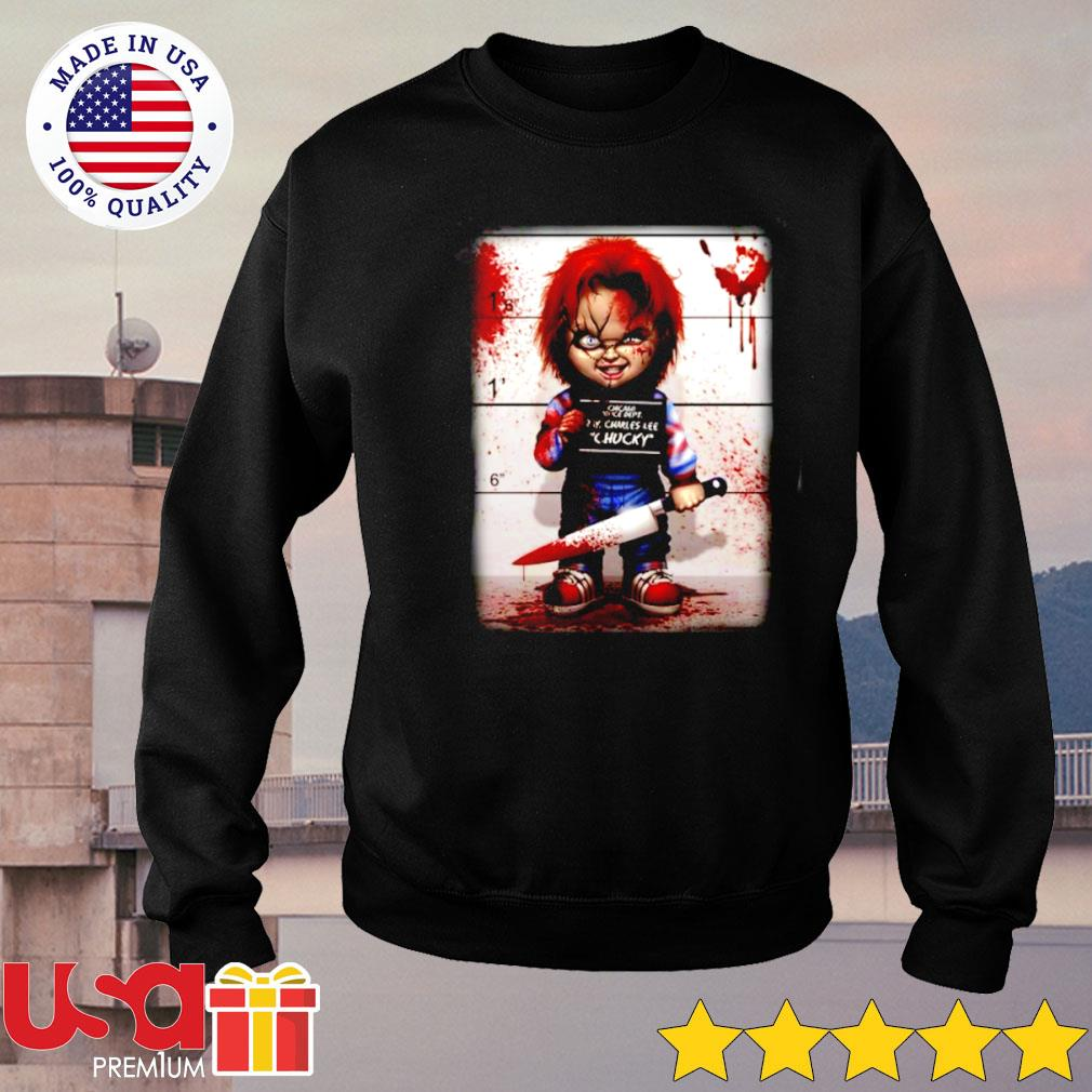 Charles Lee Chucky good guy Halloween s sweater