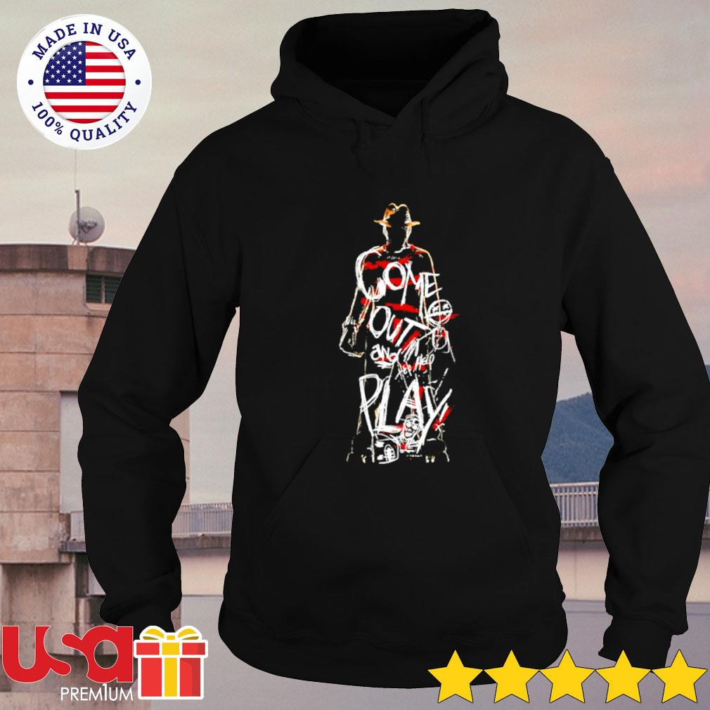 Freddy Krueger come out and play Halloween s hoodie