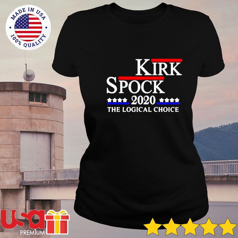 Kirk spock 2020 the logical choice s ladies-tee