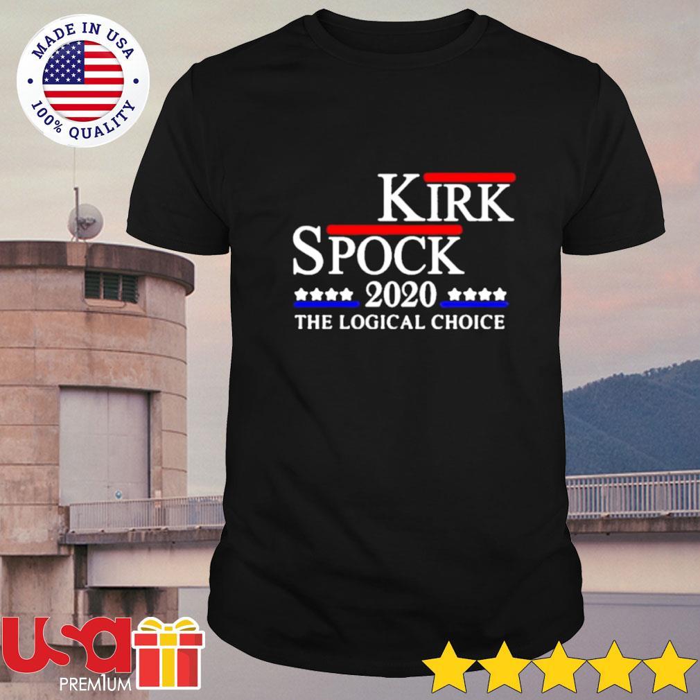 Kirk spock 2020 the logical choice shirt