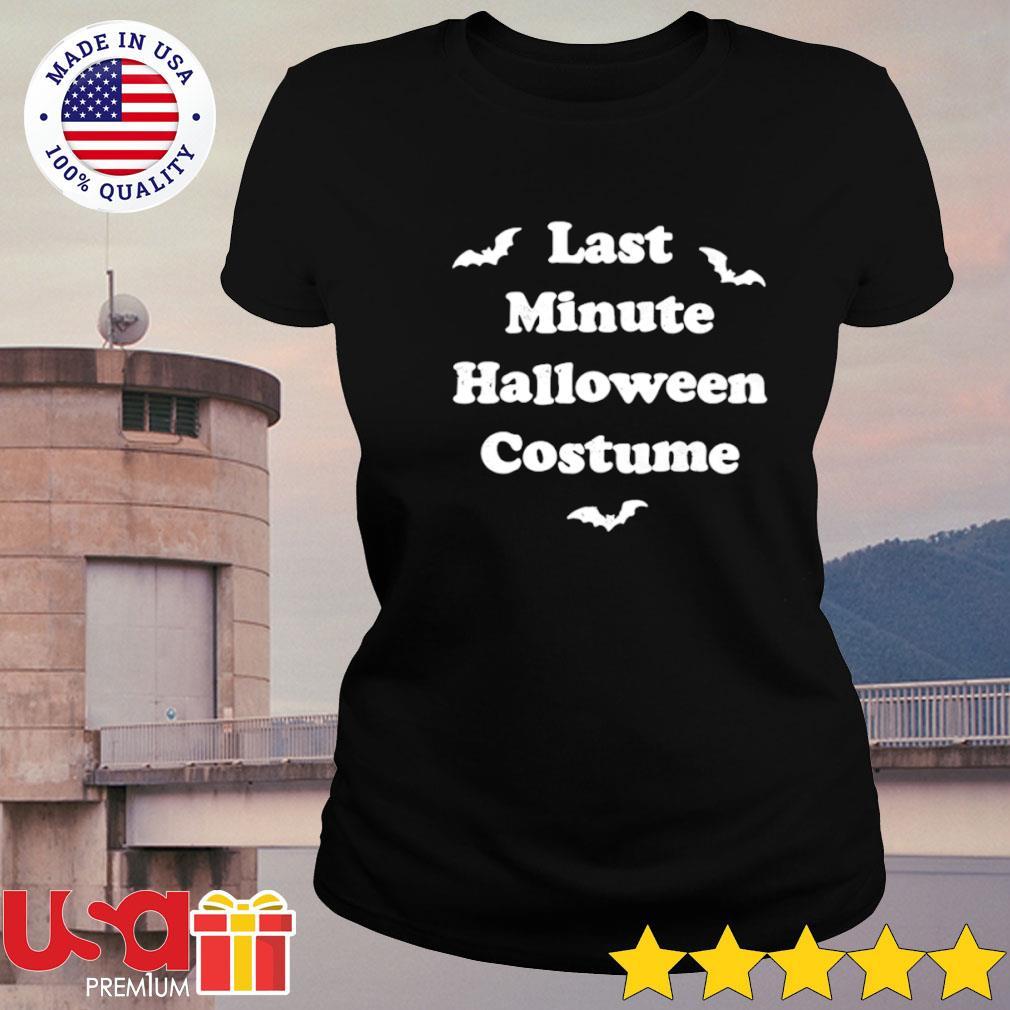 Last minute Halloween costume s ladies-tee