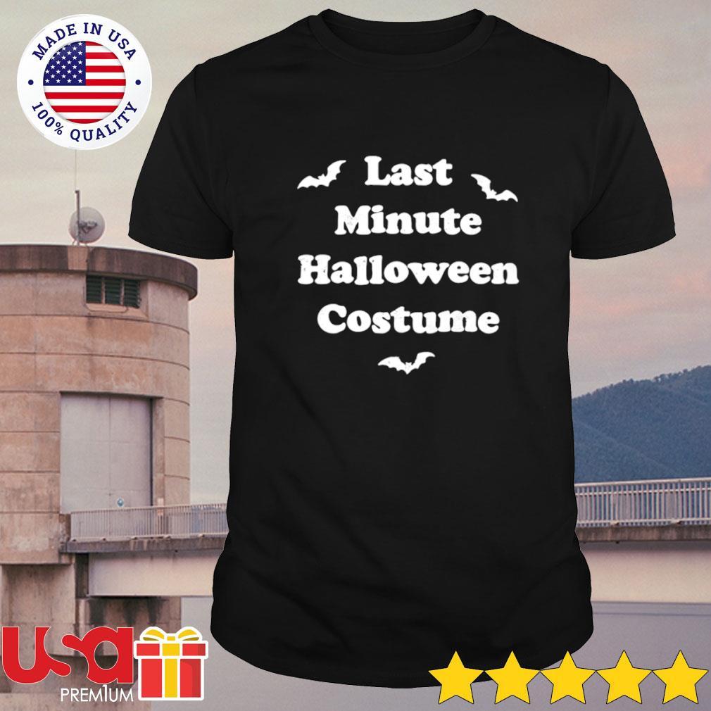 Last minute Halloween costume shirt