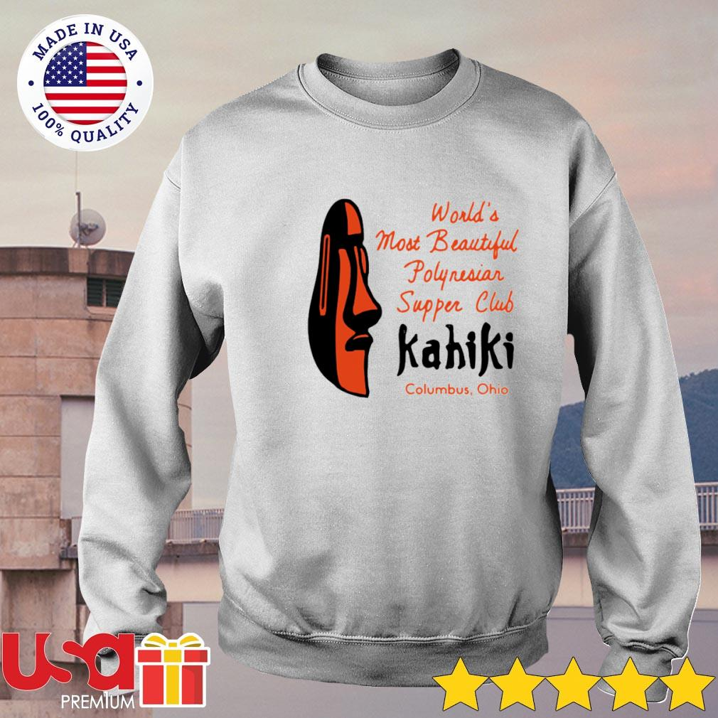 World's most beautiful polynesian supper club Kahiki Columbus Ohio s sweater