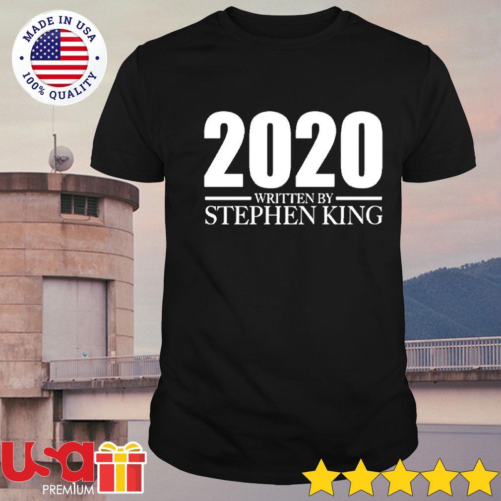 Halloween 2020 written by Stephen King shirt