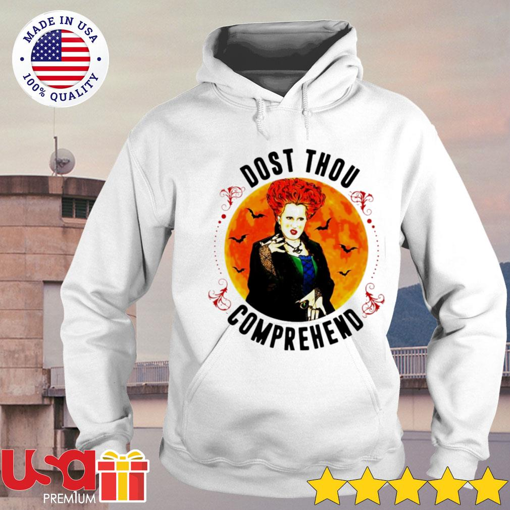 Winifred Sanderson Dost thou comprehend Halloween s hoodie