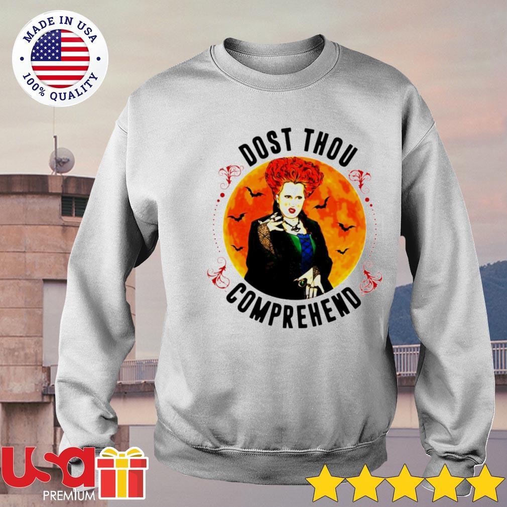 Winifred Sanderson Dost thou comprehend Halloween s sweater
