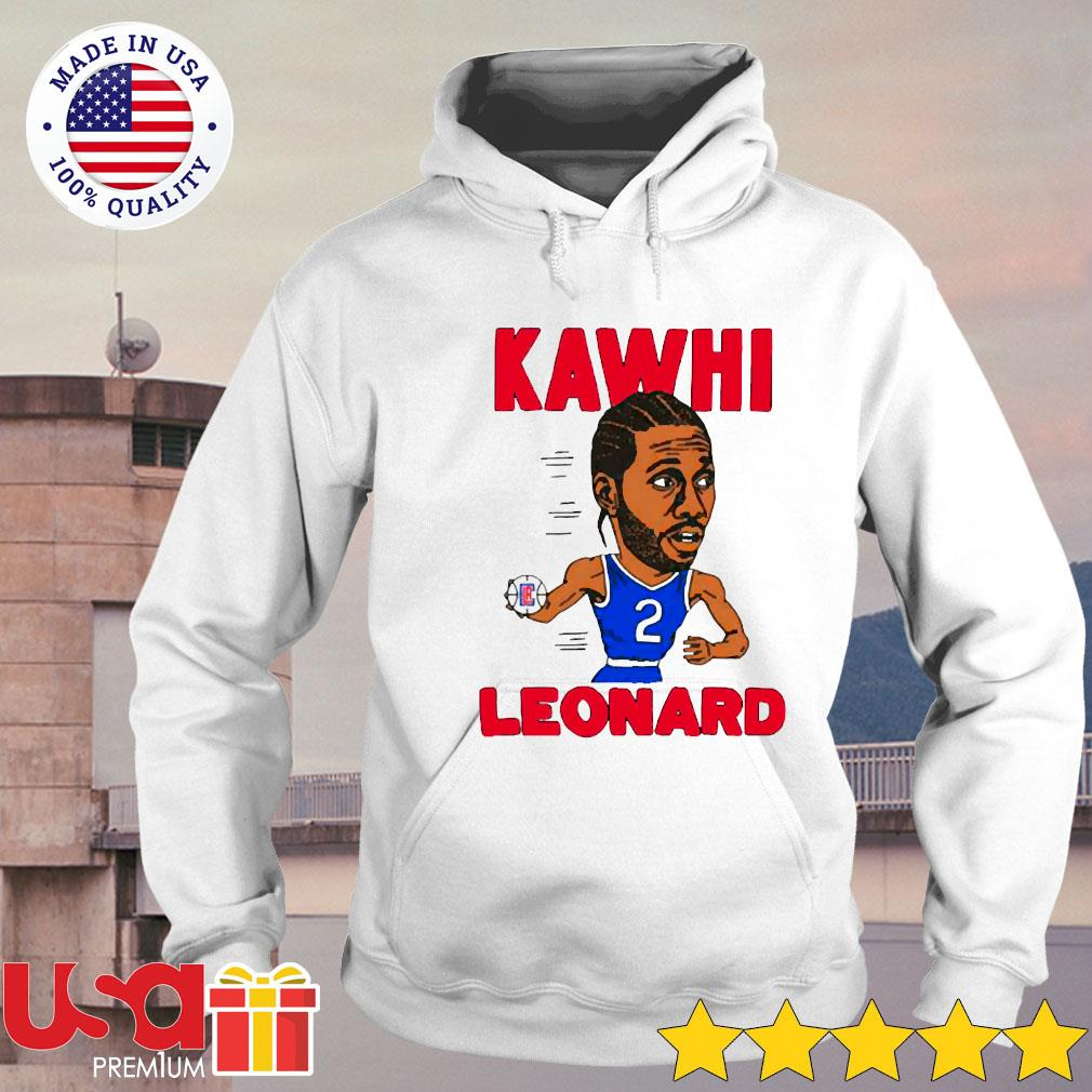 02nd Kawhi Leonard Los Angeles Clippers s hoodie