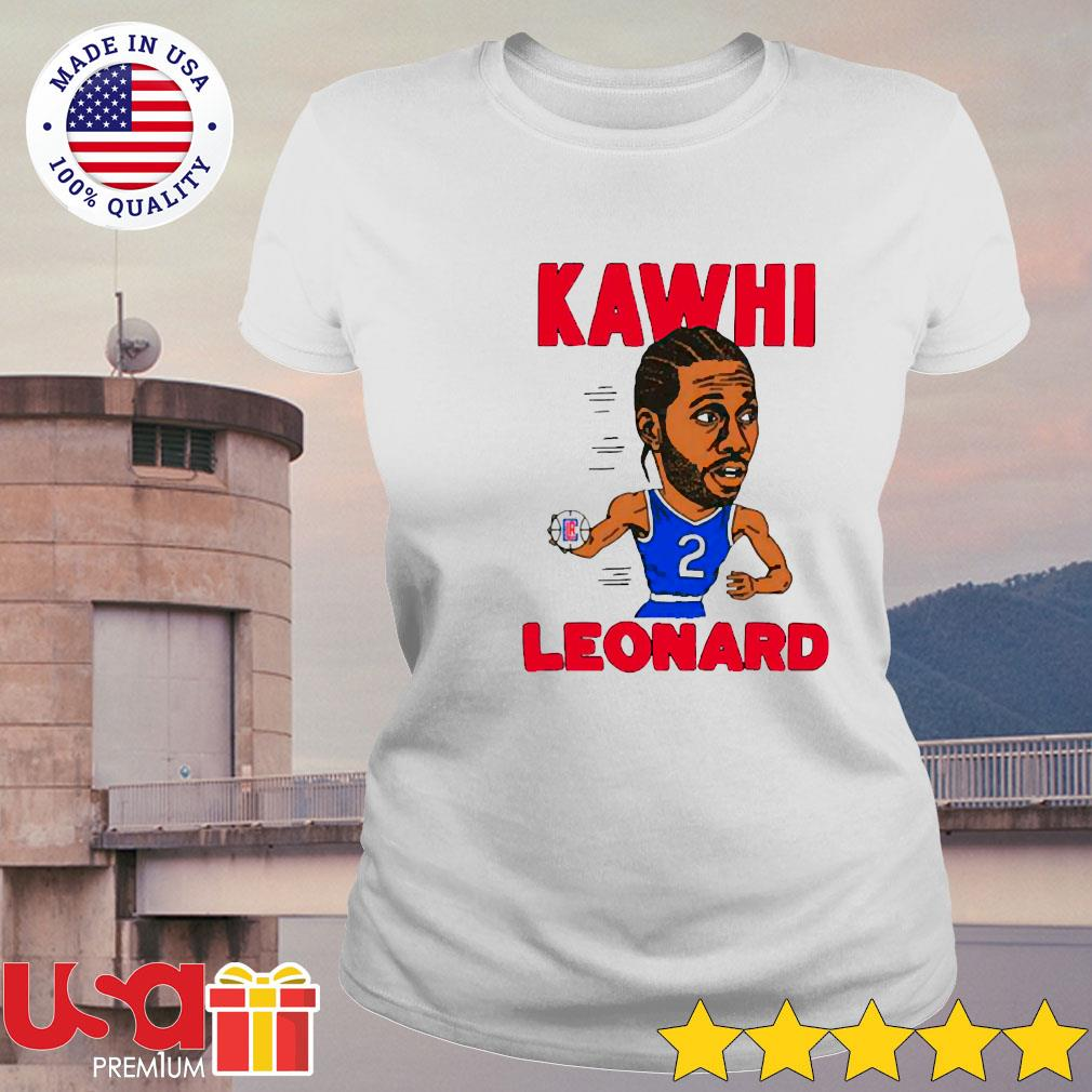 02nd Kawhi Leonard Los Angeles Clippers s ladies-tee