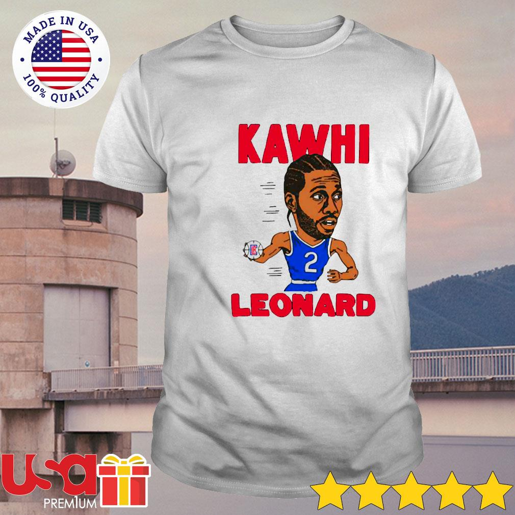 02nd Kawhi Leonard Los Angeles Clippers shirt
