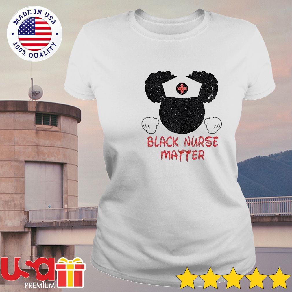 Disney Mickey Mouse Black nurse matter s ladies-tee