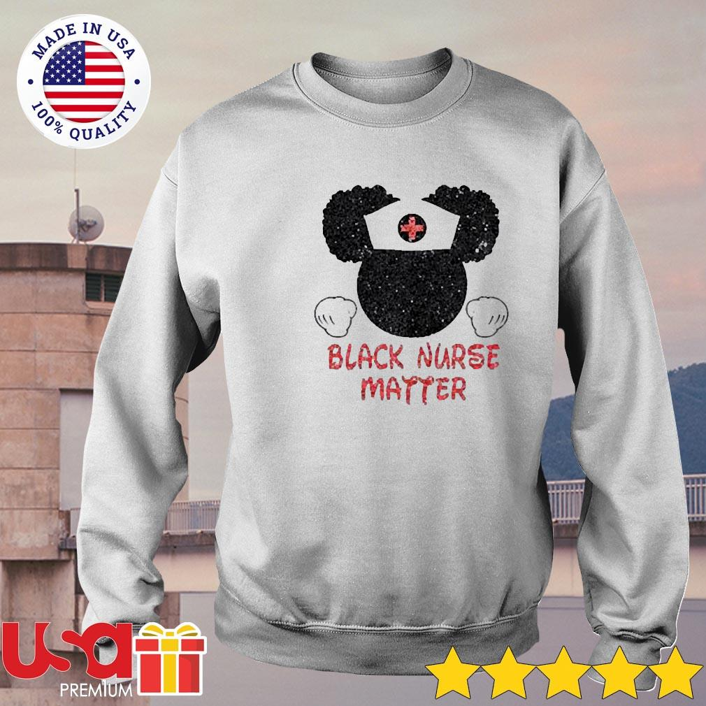 Disney Mickey Mouse Black nurse matter s sweater